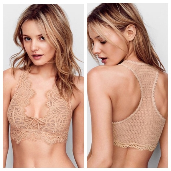 42cecddd6fb803 NEW VS Dream Angel Laced Up Bralette. NWT. Victoria s Secret
